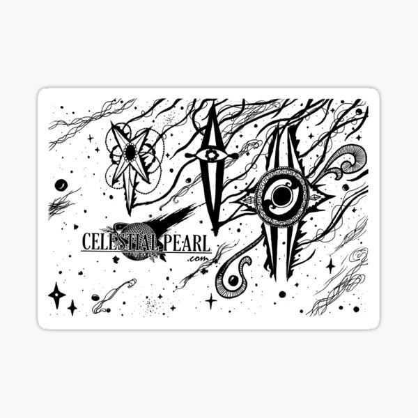 Shooting Stars Sticker