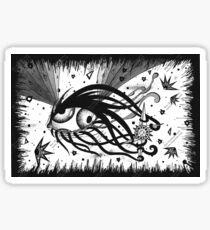 Curious Space Eyeball Sticker