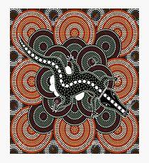 Aboriginal morris Photographic Print