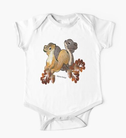 Squirrel with Acorn (2794  Views) Kids Clothes