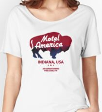 Motel America Women's Relaxed Fit T-Shirt
