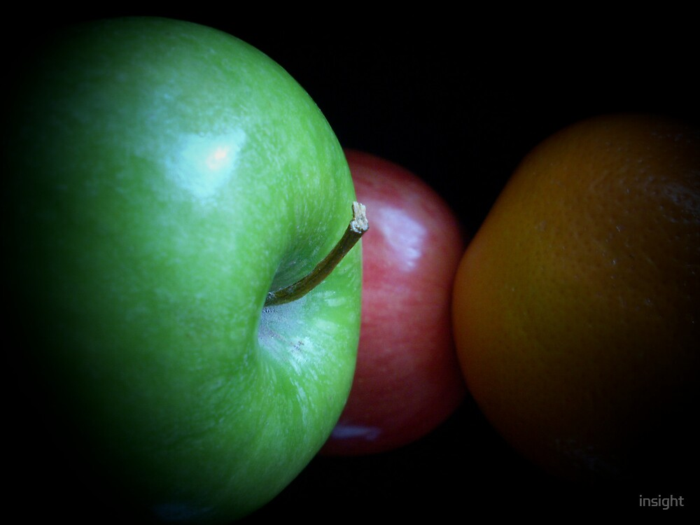 An Apple a Day... by insight