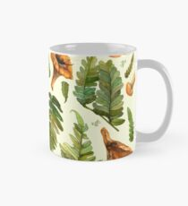 Ferns and mushrooms Mug