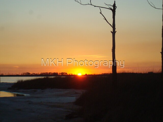 Sunset on the point by MKH Photography