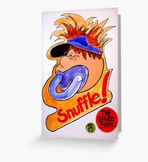 Snuffle© The Raver Baby™  Greeting Card