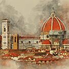 The Duomo in Florence. by Brian Tarr