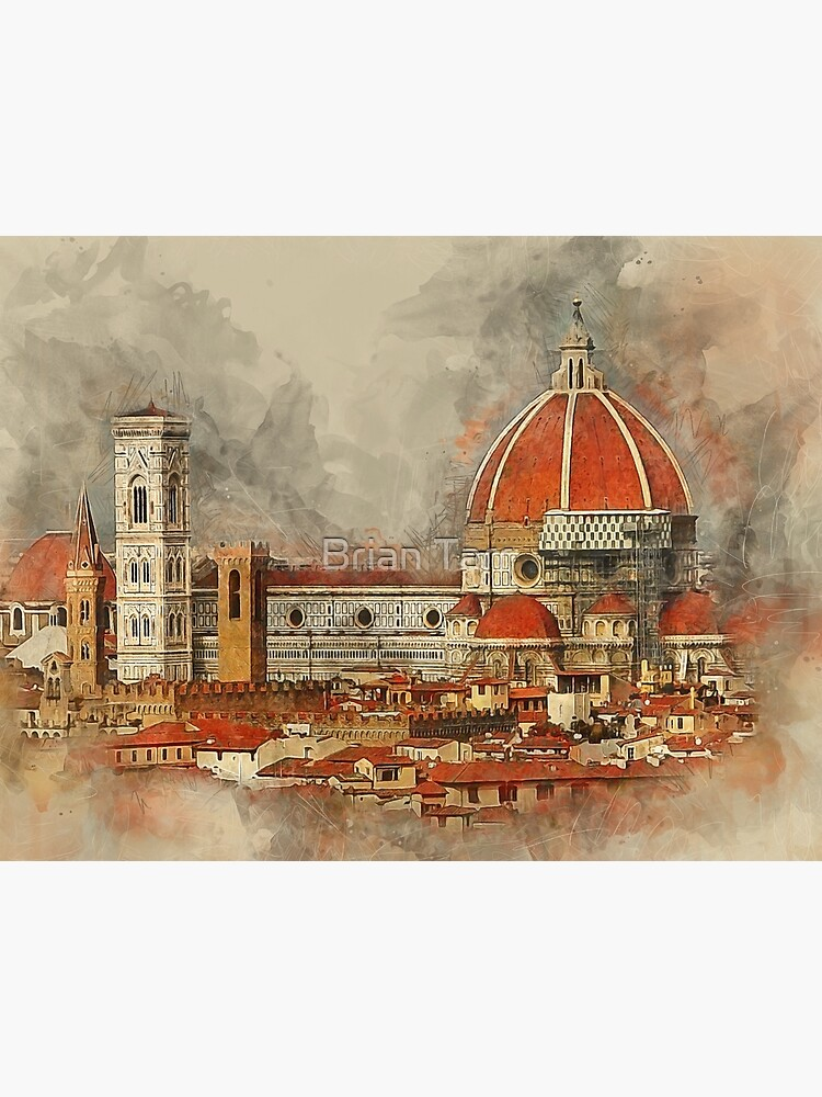 The Duomo in Florence. by Tarrby
