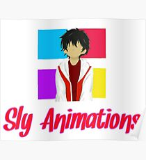 Sly animation Poster