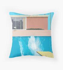 David Hockney, A Bigger Splash. 1967 Throw Pillow