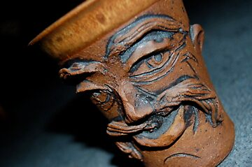 Mug with Face by psalm46