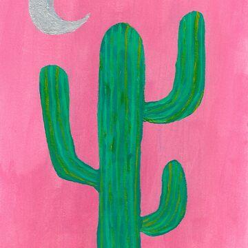 Pink Cactus by iamkart