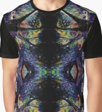Pattern - Stained Glass Multi Graphic T-Shirt