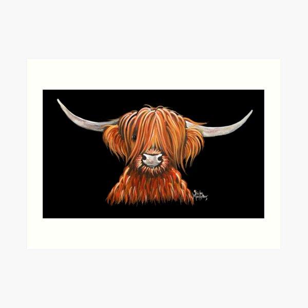 Hier ist ein weiterer meiner Hairy Highland Cow Prints 'HARLEY'.  Ich hoffe du magst ihn!  Ich wünsche Ihnen einen schönen Tag ............. Shirley x Kunstdruck