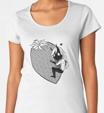 Big Strawberry Women's Premium T-Shirt