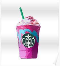Unicorn Frappuccino  Poster