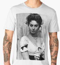 Sophia loren Men's Premium T-Shirt