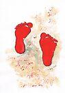 Katie's feet by Elizabeth Kendall