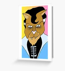 Tommy Cat Greeting Card