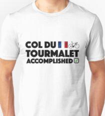 Col Du Tourmalet Accomplished Iconic Cycling Climb Tour De France French  T-Shirt