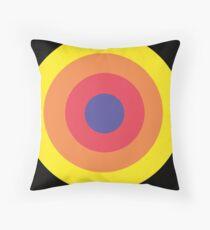 Rainbow Dot Throw Pillow