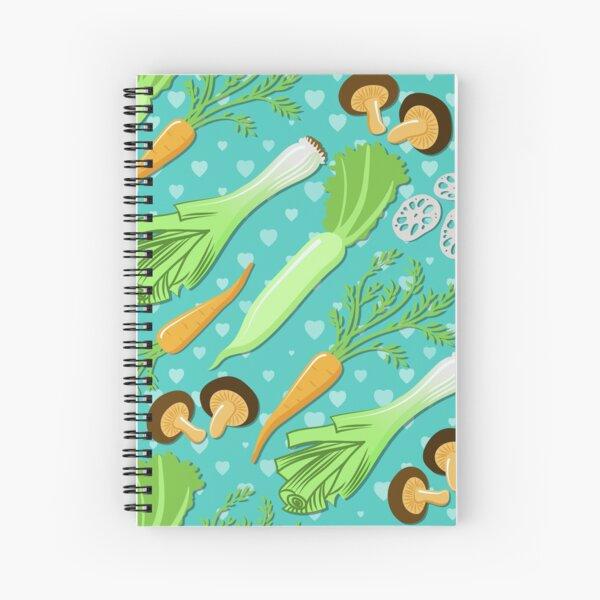 Japanese Soup Spiral Notebook