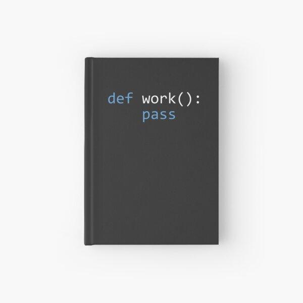 Lazy Python Programmer Hardcover Journal