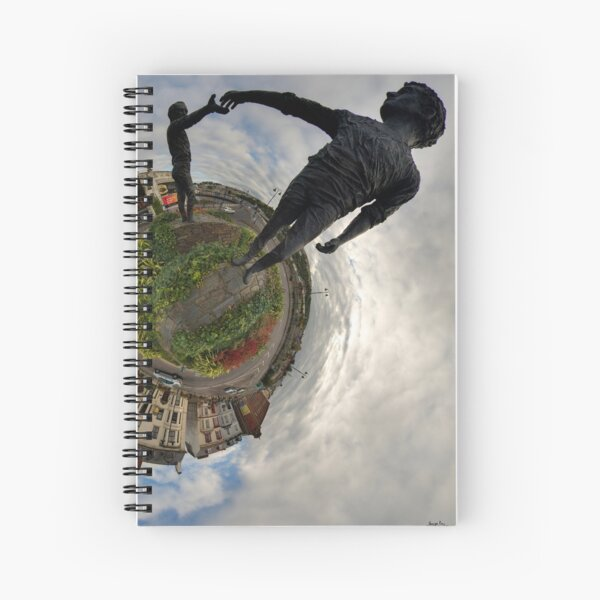 Hands Across the Divide, Derry Spiral Notebook