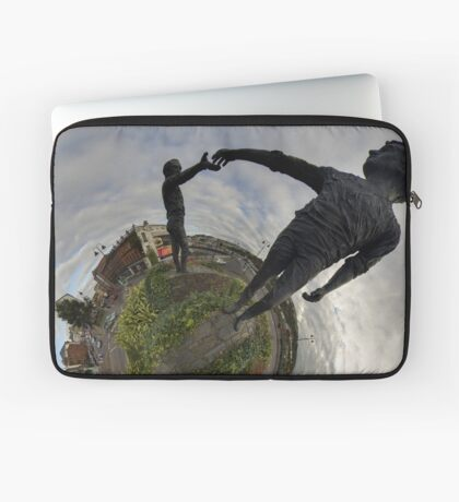 Hands Across the Divide, Derry Laptop Sleeve