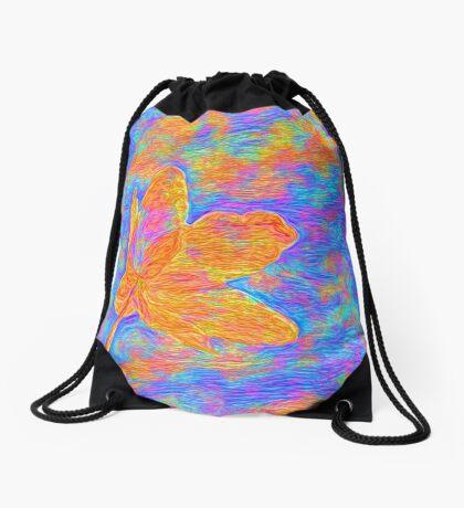 Flower Drawstring Bag