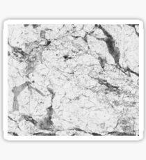 Dramatic white stone - marble Sticker