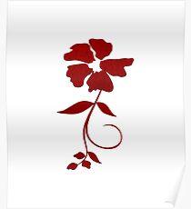 Burgundy Poster