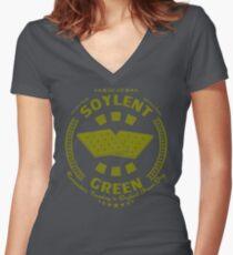 Soylent Green Women's Fitted V-Neck T-Shirt