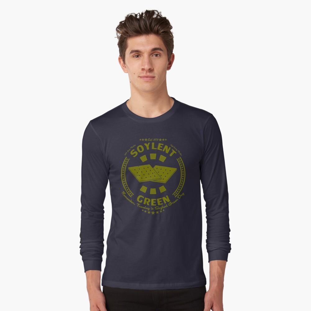 Soylent Green Long Sleeve T-Shirt Front