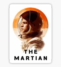The Martian  Sticker