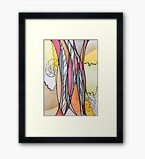 Research yourself Framed Print