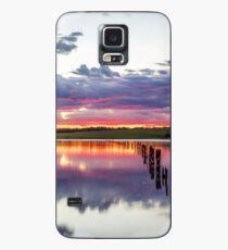 Colouful lake sunset Case/Skin for Samsung Galaxy