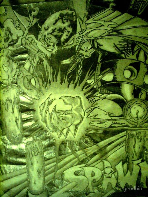 hell spawn by Legendbia