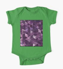 Abstract Geometric Background #10 One Piece - Short Sleeve