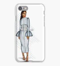 Pinstripe Doll iPhone Case/Skin