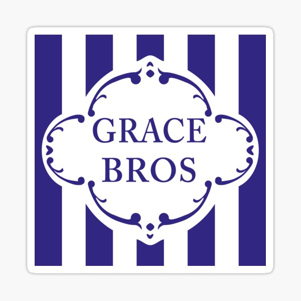 Are You Being Served? – Grace Bros. Logo Sticker