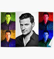 Richard Armitage Pop-Art Collage Poster
