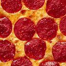 Peperoni Pizza von JCDesignsUK