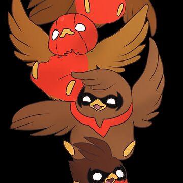 Go!Robins! - Brave Birds by yolinart