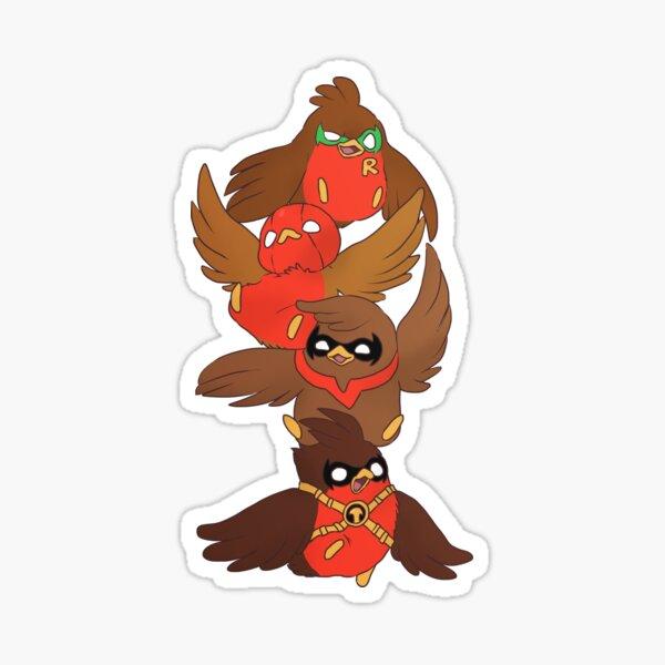 Go!Robins! - Brave Birds Sticker