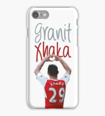 Granit Xhaka iPhone Case/Skin