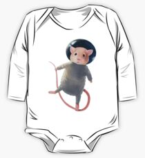 Mouse Astronaut One Piece - Long Sleeve
