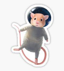 Mouse Astronaut Sticker