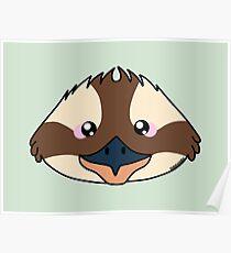 Kookaburra bird - Australian animal design Poster