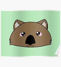 Just a very cute wombat -  Australian animal design Poster