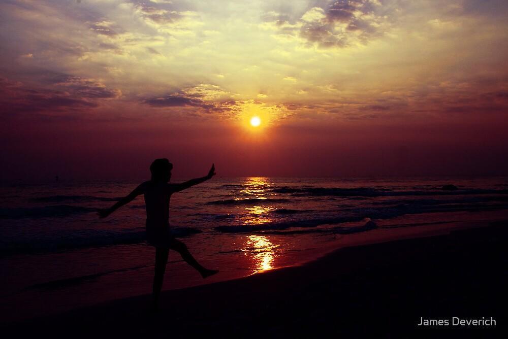 Purple Sunrise by James Deverich